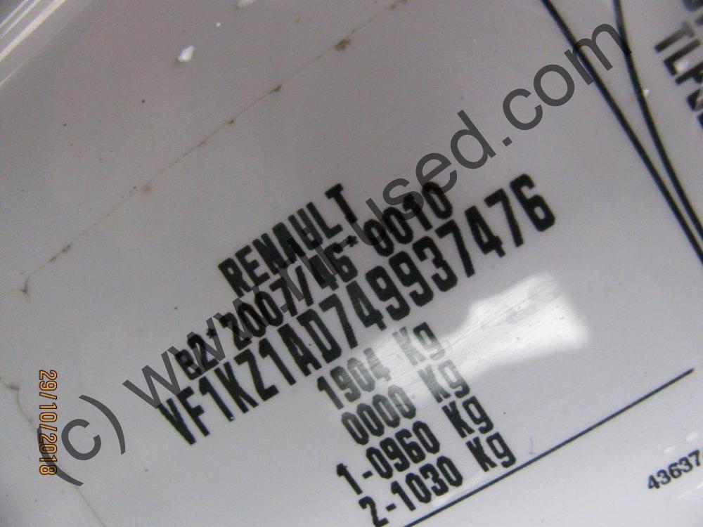 RENAULT MEGANE GRANDTOUR DCI 90